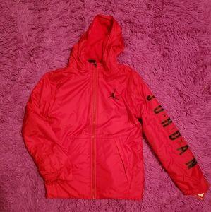 Jordan Red Jumpman Boys Jacket